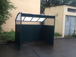 Площадки для контейнеров для баков 01